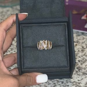 David Yurman Helena Large dome ring...